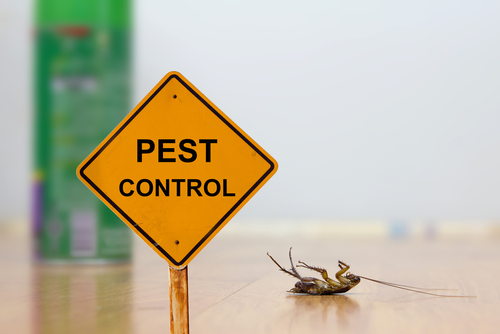 Pest Control Services Sign in Bergen County, NJ